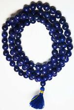 Lapis rosary , Lapiz lazuli rosary / Lapis mala / Lapiz mala 108 + 1 = 109 beads
