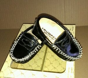 *** New Boys Trumpfit Moccasins  0/6 mths*** no box