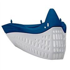 Empire E-Flex Flex Chin/ Mask Bottom - Blue/White - paintball - NEW
