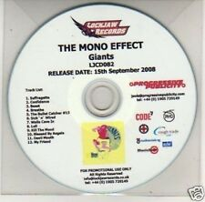 (J378) The Mono Effect, Giants - DJ CD