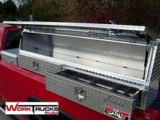 "Topsider Truck Tool Box with Drawer 60"" High Side Top Mount Toolbox topside"