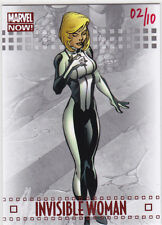 2014 Marvel Now red foil variant 44V Invisible Woman 2/10