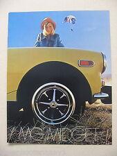 1974 MG Midget Brochure -Mint