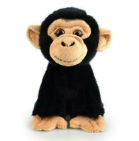 LIL FRIENDS CHIMPANZEE PLUSH SOFT TOY 18CM STUFFED ANIMAL BY KORIMCO