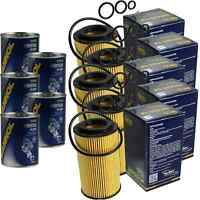 5x Original SCT Ölfilter SH 425/1 P + 5x SCT Motor Flush Motorspülung