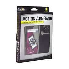 Nite Ize Action Armband Large w/S-Biner & Curvyman for Sports Running Jogging