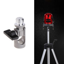5/8 Inch Angle Tripod Rotary Laser Levels Dual Slope Adjustment Bracket Rod Hot