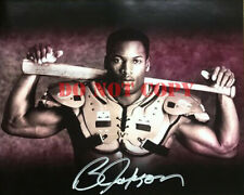 BO JACKSON SIGNED AUTOGRAPH BO KNOWS BO 8X10 PHOTO
