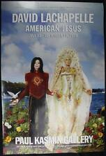 "Original David LaChapelle Show Poster American Jesus Michael Jackson 24"" x 36"""