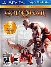 God of War Collection (Sony PlayStation Vita, 2014) Complete PS