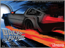 Back To The Future: 30th Anniversary Poster LFCC Exclusive