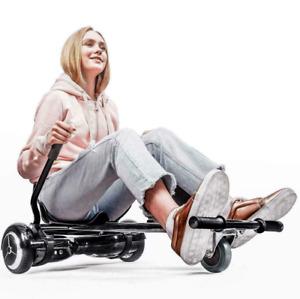 """Adjustable Hoverkart Stand Go Kart Seat Holder 6.5"""" 8"""" 10"""" Self Balance Scooter"""