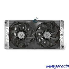 Direct Fit Aluminum Radiator-Electric Fans Fits 1999-2012 Chevy-GMC,Trucks,SUV -