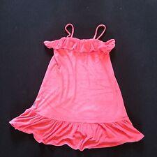 RALPH LAUREN ROSE FRILL SUN DRESS AGE XL RRP £69 NOW £26.50