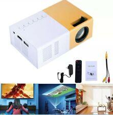 3.2 x 1.9in 1080P Home Theater Cinema HDMI AV SD Mini HD Portable Projector A2