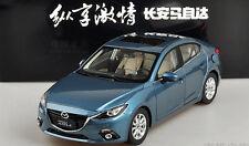 1:18 Mazda 3 AXELA Die Cast Model Blue