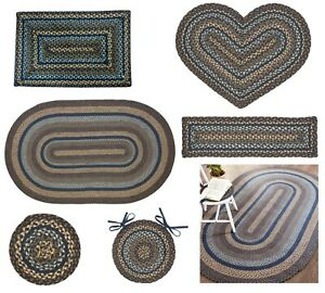 Denim Braided Rug & Tabletop NEW Collection