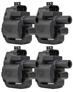 4 x ICE Ignition PRO LS1 Race Coils – (4 COIL PACK), single coil per cylinder