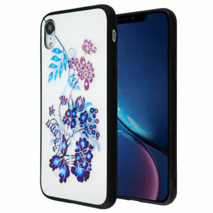 3D Flowers Stereograph Hybrid Protector Cover (with Package)