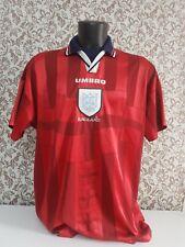 camiseta shirt vintage futbol selección inglesa talla xl