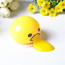 Vomiting & Sucking Gudetama Stress Relief Lazy Egg Funny Yolk Vent Toys New Gift