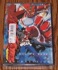 Getter Robo  Armageddon Vol 1 Resurrection DVD 2001 BRAND NEW NEVER OPEN ROBOT X