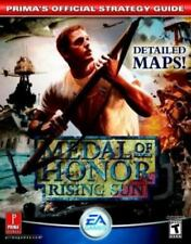 Medal of Honor : Rising Sun by Prima Games Staff, Prima Temp Authors Staff...