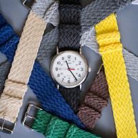 Double Braided Nylon - Perlon Watch Strap