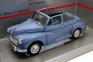 Minichamps 1/18 scale 150 137030 - Morris Minor Cabriolet - Blue