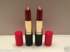 Lot of 2: Estee Lauder Lipstick Pure Color 73  Scarlet Siren Creme, Full Size