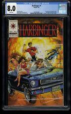 Harbinger #1 CGC VF 8.0 White Pages