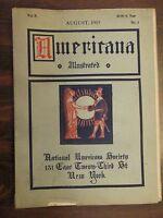Americana Illustrated Magazine August 1915 National Americana Society