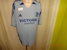 """FC Schalke 04 Adidas Ausweich Trikot 2005/06 """"VICTORIA versichert"""" Gr.XXL TOP"""