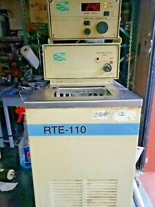 NESLAB RTE 110 HEATED CIRCULATER WORKS  TESTED  REFRIGERATION NOT WORKING NO LID