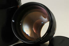 [EXC+++++!!!] Canon FD 85mm F1.2 S.S.C Aspherical w/Case From JAPAN #250
