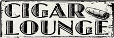 Cigar Lounge Metal Sign, Smoking Room, Bar Decor, Home Decor, Man Cave