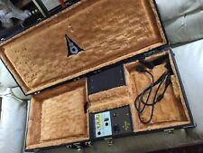 Rare 1980's Amplifier Guitar Case Music Village