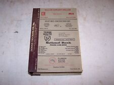 1980 TERRE HAUTE INDIANA City Directory Everyone's Adress & Trade LOCAL ADS