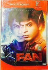 FAN DVD - SHAHRUKH KHAN - BOLLYWOOD MOVIE DVD / MULTI SUBTITLES / SPECIAL EDITIO
