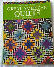 Leisure Arts Presents Great American Quilts Book Nine Quilting Sewing