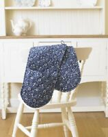 Licensed William Morris Eyebright Blue and White Floral Ovenglove