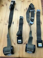 A pair of genuine Ford Irvin front seat belts for MK1 & MK2 Escort Cortina Capri