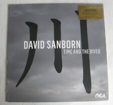 DAVID SANBORN (LP 33T) TIME AND THE RIVER 180gr AUDIOPHILE VINYL  NEUF SCELLE