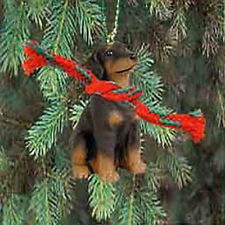 Conversation Concepts Red Doberman Pinscher W/Uncropped Ears Original Ornament