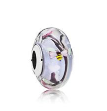 Pandora Enchanted garden Murano S925 charm genuine ale Gift Bag 797014 UK