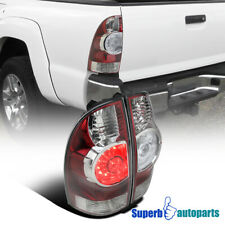 For 2005-2015 Toyota Tacoma X-Runner Red LED Tail Brake Lights Lamps