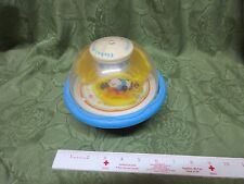 Vintage 1991 Fisher Price Roly Poly Chime Ball 1155 Rocking Horse Riding Bears