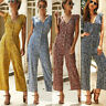 New Women Casual Summer Floral Playsuit Bodycon Party Jumpsuit Romper Trousers