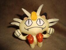 "Burger King 2000 Pokemon Meowth Plush & Beans 3"" tall"