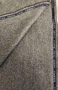 """Brown/Grey Herringbone """"Autumn Acorn"""" 100% Wool Tweed Fabric. Sold By The Metre"""